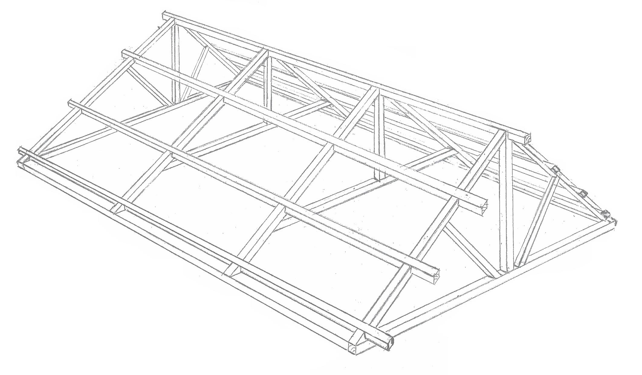 Oak Timber Framing Roof Bb