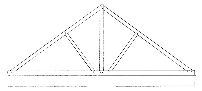 Oak timber roof trusses cheapest prices uk king Truss cost