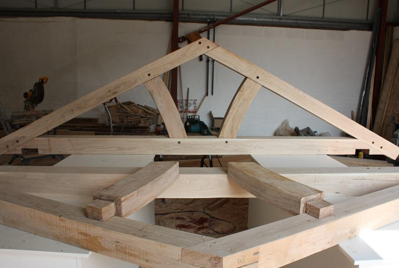 Queen Post Truss Prices Uk Quality Oak Framed Trusses