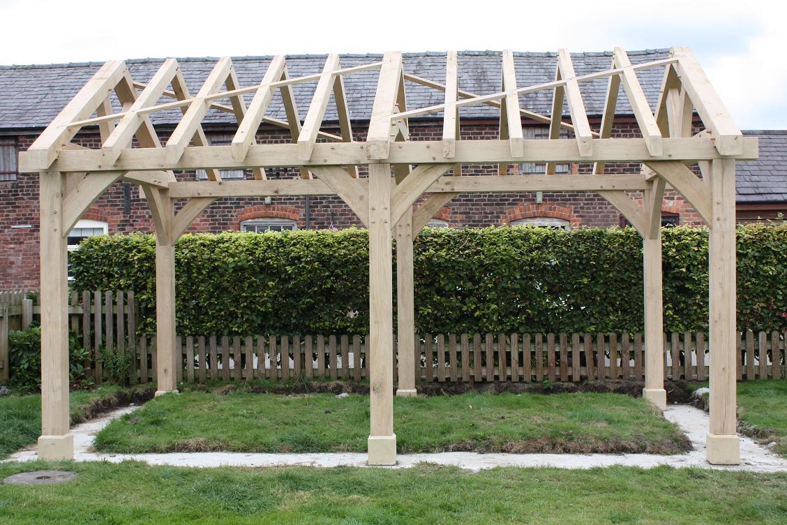 Oak Gazebo & Oak Framed Car Ports | Wooden Gazebos | Oak ...