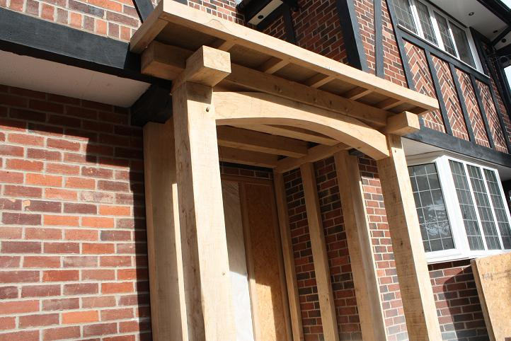 Oak porches oak timber porch low prices oak timber for Porches prices