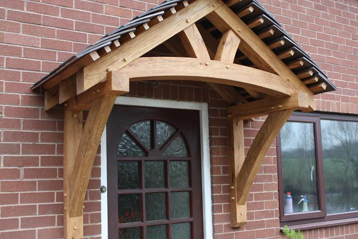 Oak porch prices uk timber framed porch kits oak for Porches prices