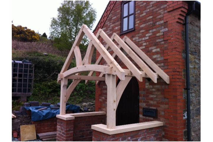 Oak Porch Kit