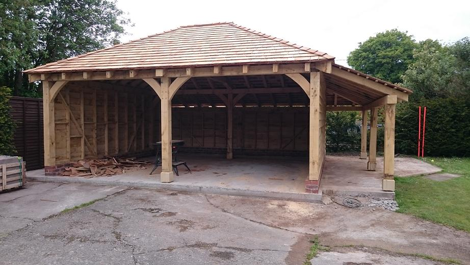 Oak Framed Garages Oak Timber Framing