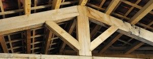 Oak timber Roof Trusses