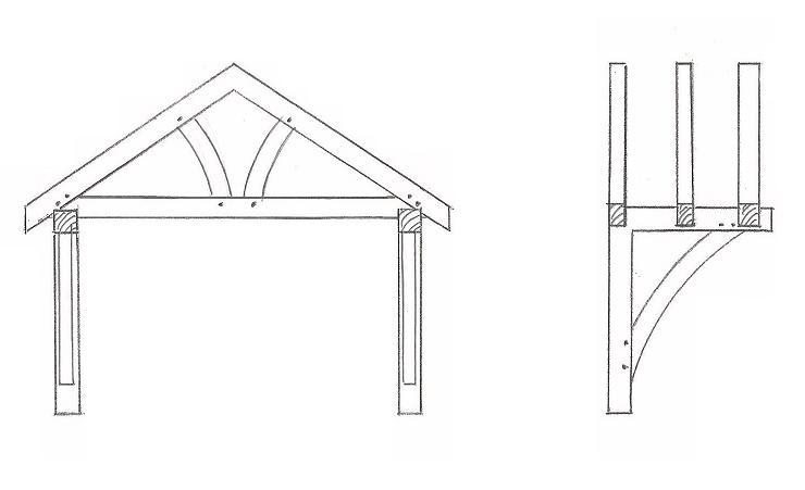 Oak Timber Porch Kits