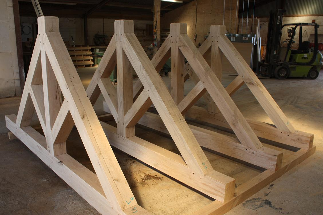 Oak Trusses uk
