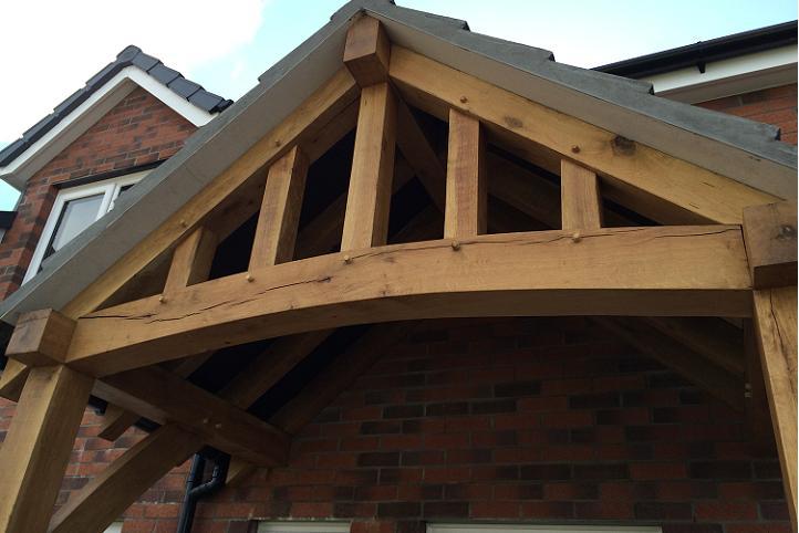 Oak Porch Kits Uk As Seen On Ebay Oak Timber Framing