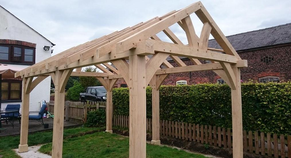 Oak Gazebo Amp Oak Framed Car Ports Wooden Gazebos Oak