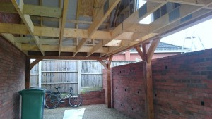 oak frame car port uk