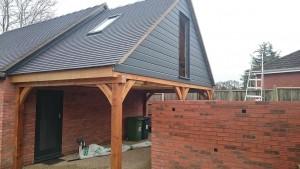 oak framed car ports
