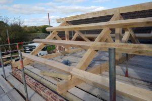 Oak Frame Roof Kits UK