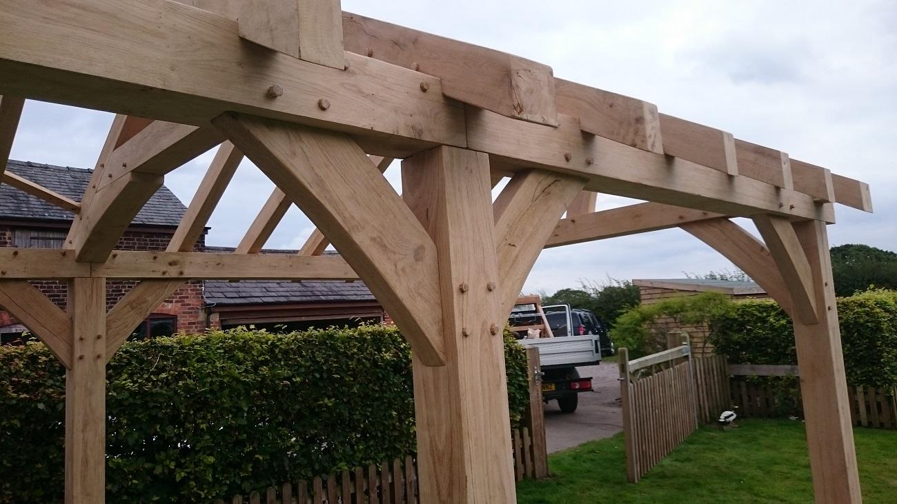 Oak Timber Framing Oak Roofs Amp Trusses Oak Porches